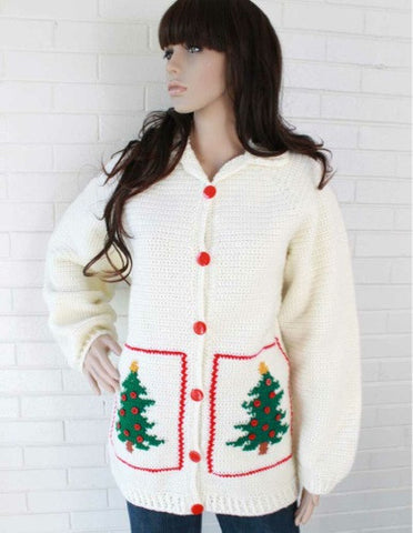 Christmas tree fashion sweater for women