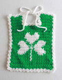 Holiday Bibs for Baby Crochet Pattern