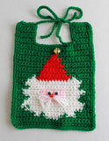 Holiday Bibs for Baby Crochet Pattern - Maggie's Crochet