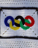 Olympic Rings Afghan and Pillow Crochet Pattern - Maggie's Crochet