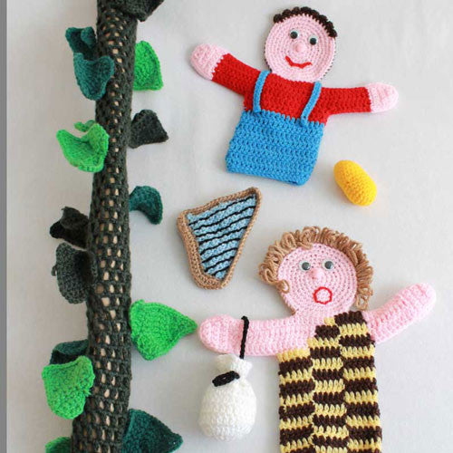 Storybook Puppets: Jack and the Beanstalk - Maggie's Crochet