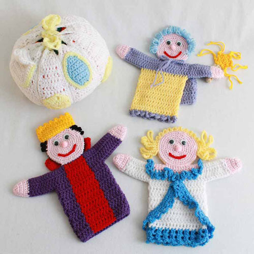 Knitting Pattern Toy Story Characters : Storybook Puppets: Cinderella Pattern   Maggies Crochet