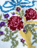 English Garden Afghan and Pillow Crochet Pattern - Maggie's Crochet