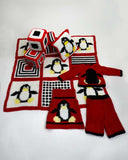 penguin collection jumper sweater pants blanket toys