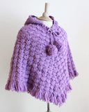 Puff Shell Poncho Crochet Pattern