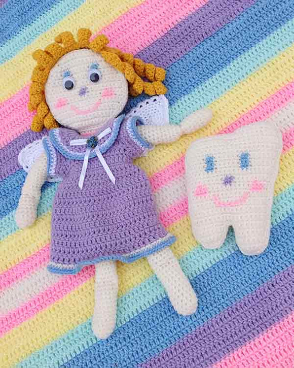 Tooth Fairy Set Crochet Pattern - Maggie's Crochet