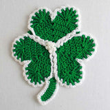 st patrick's day dishcloth