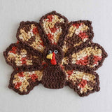 thanksgiving dishcloth