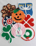 holiday dishcloths