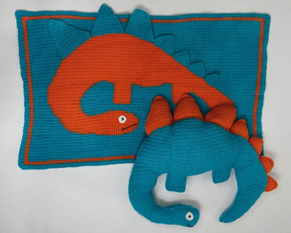 Dino the Dinosaur Pattern - Maggie's Crochet