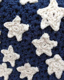 Americana Afghan, Pillow & Wall Hanging Crochet Pattern