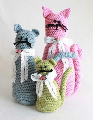 Fancy Felines Crochet Pattern - Maggie's Crochet