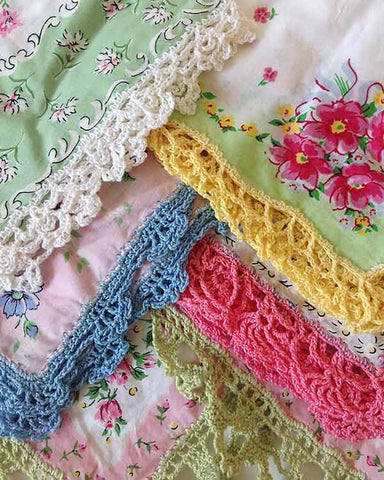 Lace Edgings Crochet Pattern