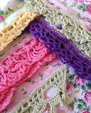 Lace Edgings Crochet Pattern - Maggie's Crochet