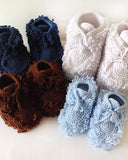 Mukluk Slippers Crochet Pattern