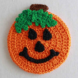 halloween pumpkin coaster
