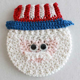 Holiday CD Coaster Crochet Patterns - Maggie's Crochet