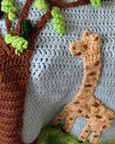 Giraffe Afghan, Pillow and Toy Crochet Pattern - Maggie's Crochet