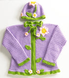 Flower Sweater and Hat