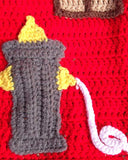Fire House Afghan and Toy Crochet Pattern - Maggie's Crochet