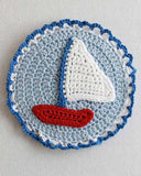 Sailboat cd coaster
