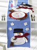 Frosty Fellows Table Runner Crochet Pattern - Maggie's Crochet