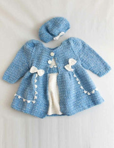 Bon Bon Dress & Jacket Set Crochet Pattern - Maggie's Crochet