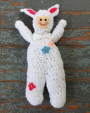 Bunny Afghan Set Crochet Pattern
