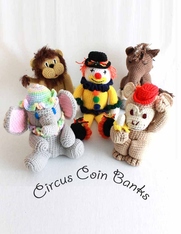 Circus Banks Crochet Pattern Pack - Maggie's Crochet