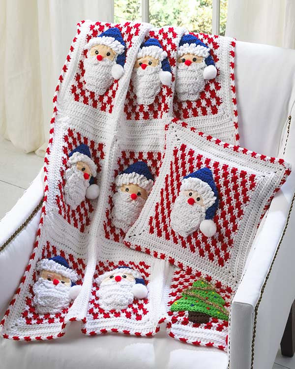 Holiday Afghan Crochet Patterns Maggies Crochet
