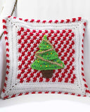 Santa Afghan Wall Hanging and Pillow Crochet Pattern