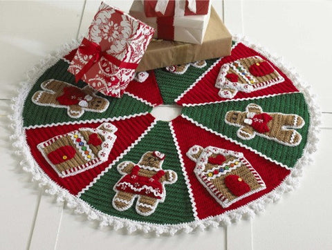 gingerbread tree skirt