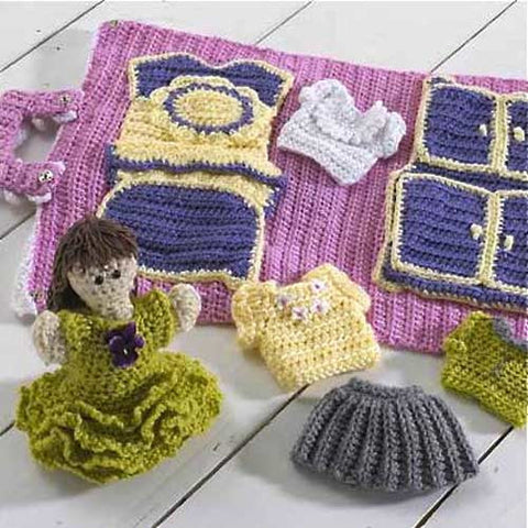 Hayley's House Crochet Pattern - Maggie's Crochet