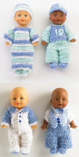 Bobby and Tyler Doll Crochet Pattern - Maggie's Crochet