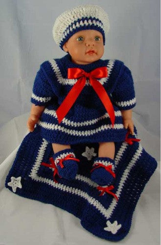 Sailor Doll Outfits Crochet Pattern - Maggie's Crochet