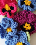 Pansy Kitchen Set Crochet Pattern