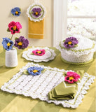 Pansy Kitchen Set Crochet Pattern - Maggie's Crochet