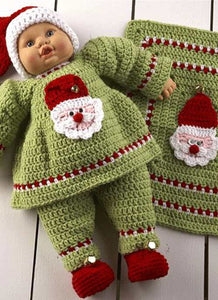 santa baby doll outfit