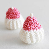 white and pink cupcakes