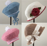 Bonnets and Berets Crochet Pattern - Maggie's Crochet