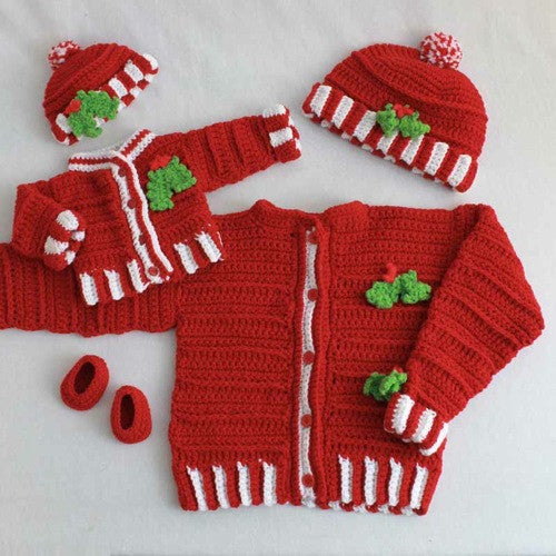 Dolly and Me Christmas Outfits Crochet Pattern   Maggies ...