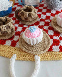 Red Riding Hood Tea Set Crochet Pattern - Maggie's Crochet