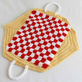 tea set carrier picnic cloth
