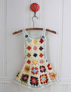 Granny Square Jumper, Hat, & Purse Crochet Pattern - Maggie's Crochet