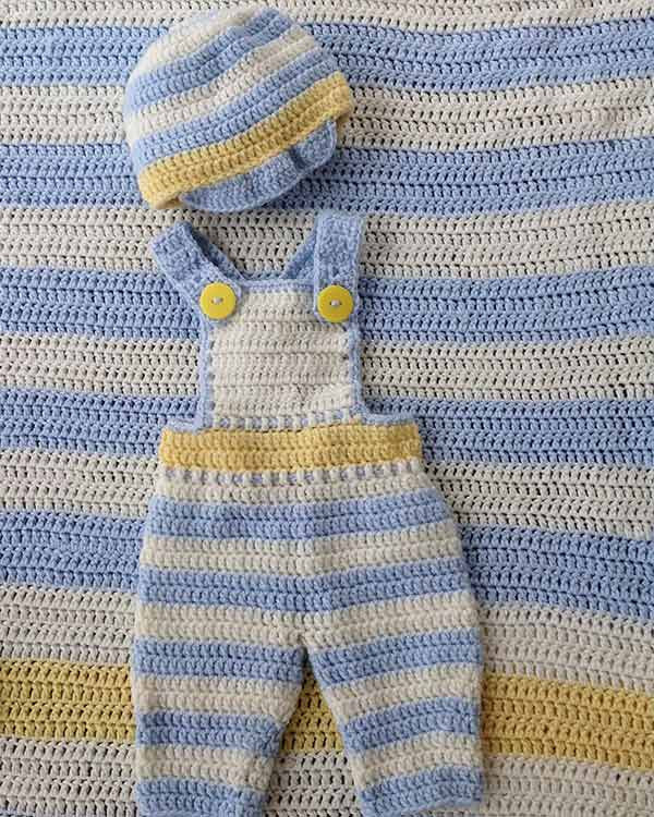 Lemon Drop Layette Crochet Pattern Maggies Crochet