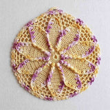 Vintage Purple Potholder Crochet Patterns - Maggie's Crochet