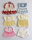 Vintage Fashion Potholder Crochet Patterns - Maggie's Crochet