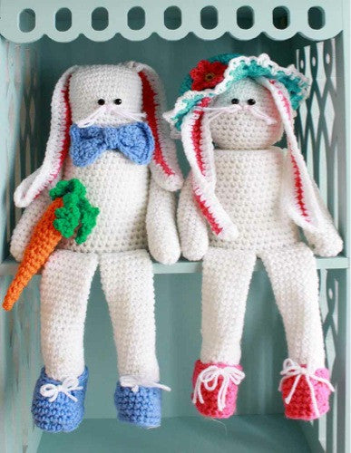Easter Shelf Sitters & Doorstop Crochet Pattern - Maggie's Crochet