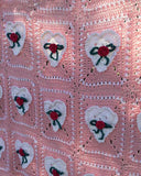 Valentine's Day Afghan & Pillow Set Crochet Pattern