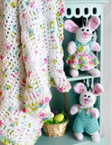 Easter bunnies and an afghan